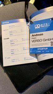 Übersichtsbild Bits & Pretzels VERSO Pitch Teilnahme