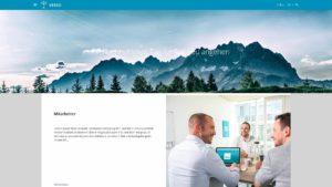 VERSO Online Profil für CSR Reporting Beispiel